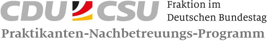 Startseite - Praktikanten Nachbetreuungsprogramm der CDU/CSU-Fraktion im Deutschen Bundestag